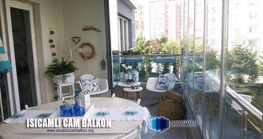 ısıcamlı Cam Balkon