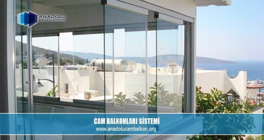 Cam balkonları sistemi