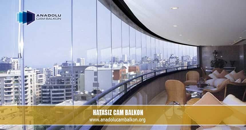 Hatasız cam balkon
