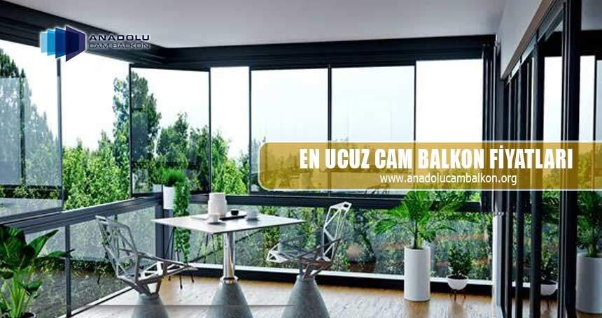 En ucuz cam balkon fiyatları